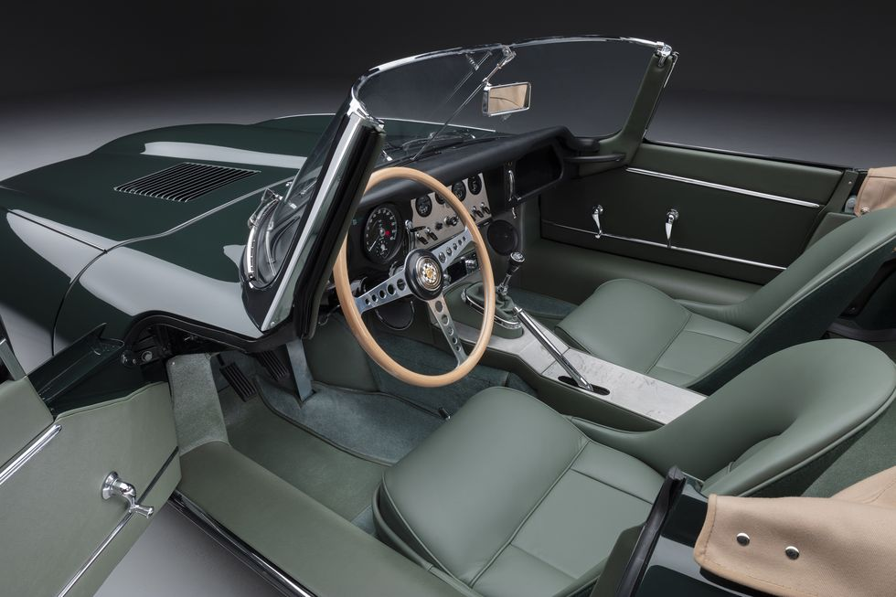 Interior do roadster